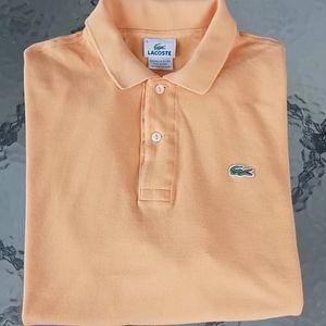 Lacoste Orange Men's Polo Shirt